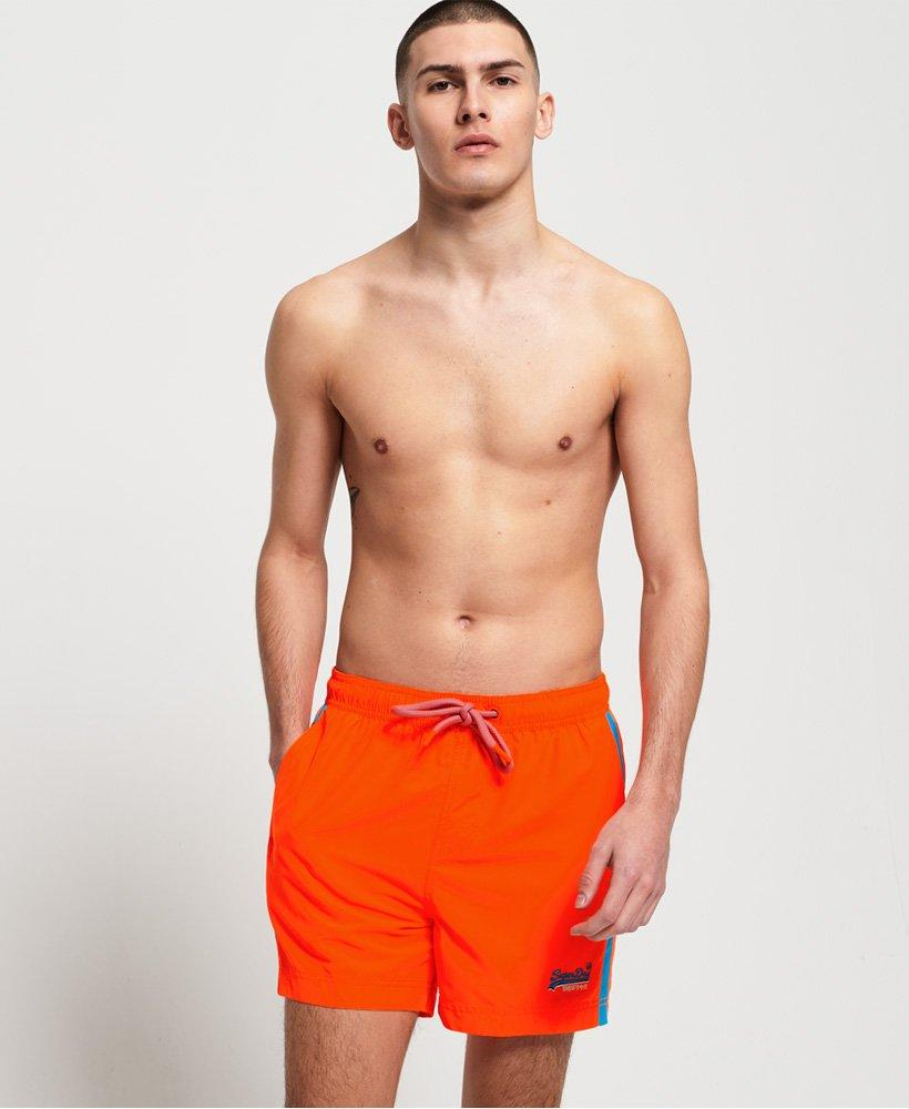Dark Orange Swim Shorts