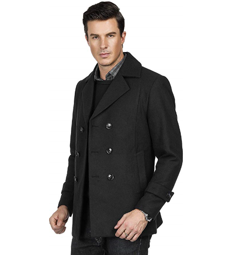 mens coat double breasted wool jacket winter professional jackets coats lord owens