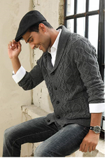 black mens sweater cardigan holiday knitted jacket best mens fashion lord owens