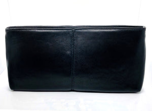 black leather purse real leather italian and french designer lord owens