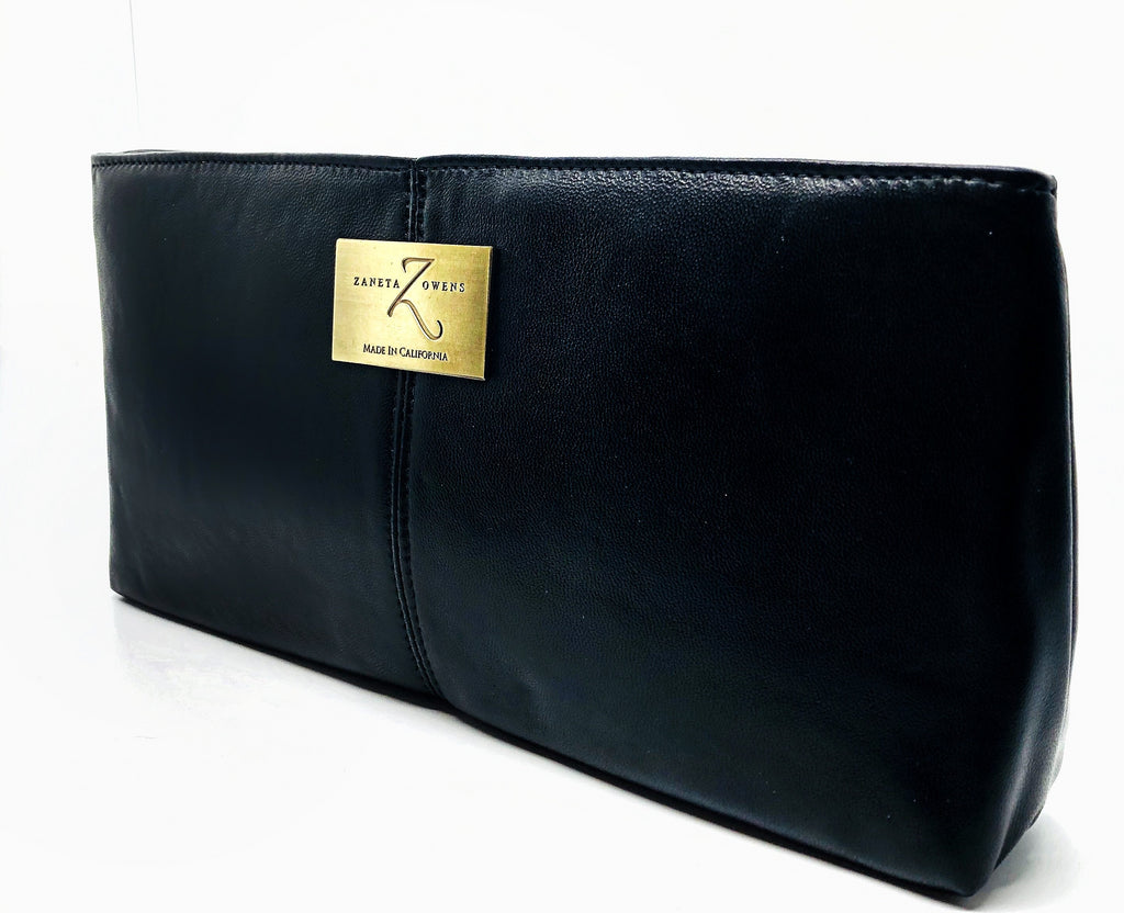 purse black clutch cocktail evening handbag for women lord owens