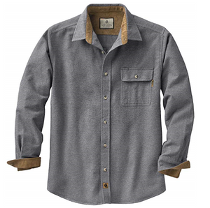 flannel mens shirt grey long sleeve camping mens clothes best mens store lord owens
