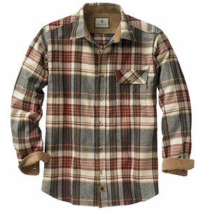 flannel mens shirt blue red tan brown long sleeve camping mens clothes best mens store lord owens