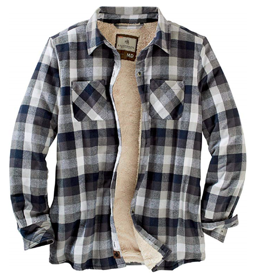 flannel mens shirt blue white long sleeve camping mens clothes best mens store lord owens