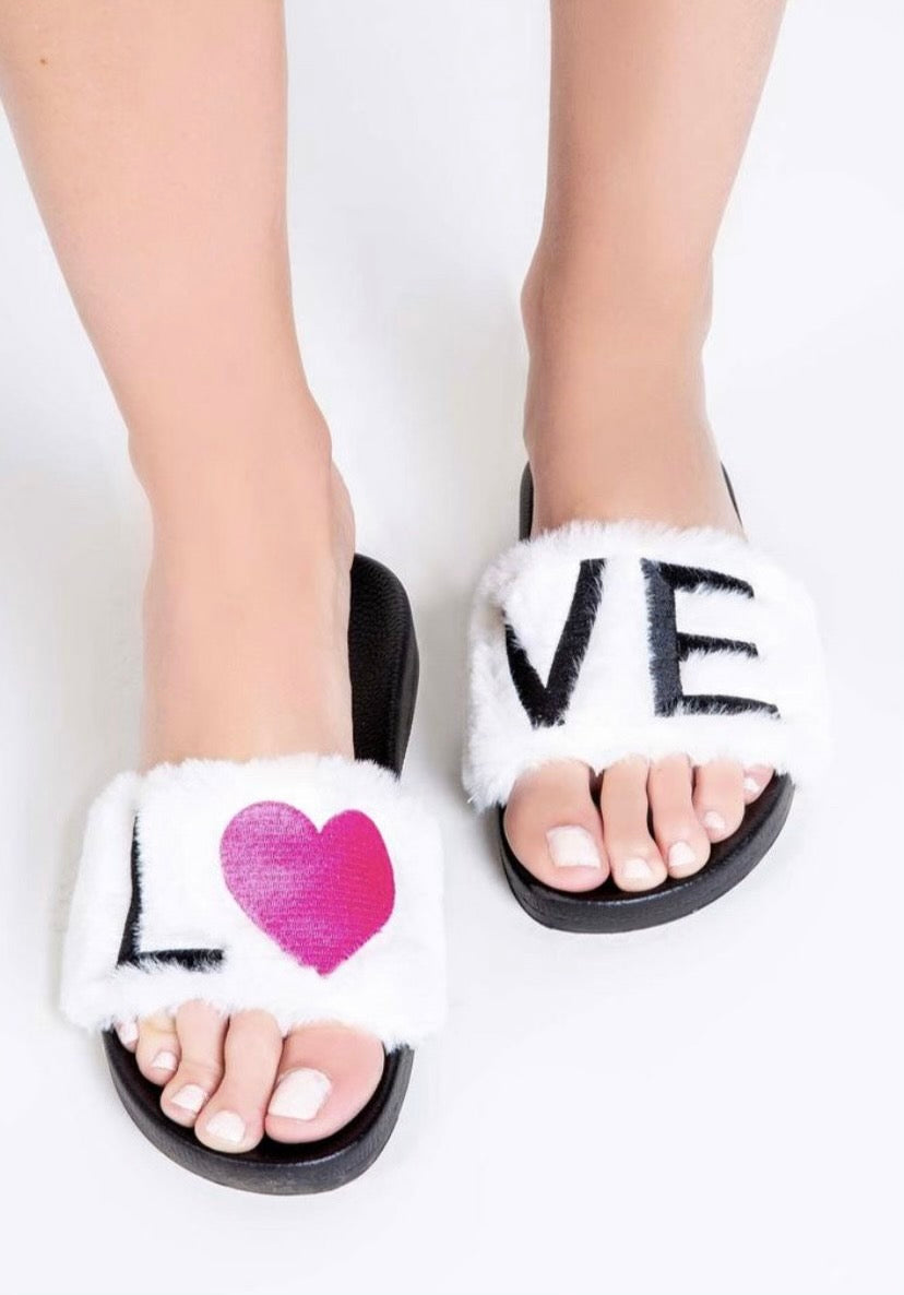 pj salvage love slipper comfy house slippers
