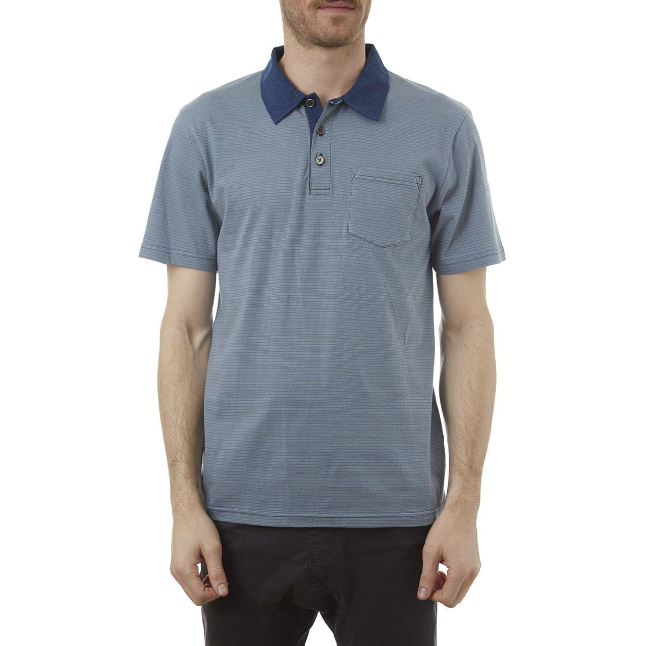 mens blue polo shirt top mens clothing store lord owens