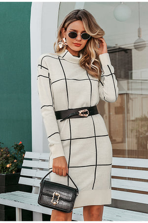 white and black sweater dress womens clothes dresses lord owens
