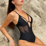 black onepiece one piece swimsuit womens clothing lord owens