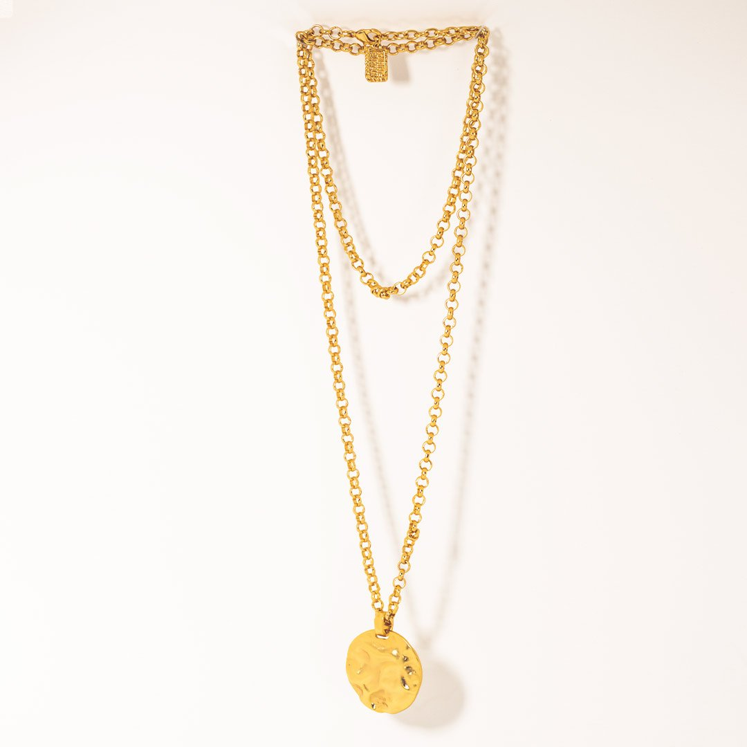 gold necklace womens real gold 24k plated womens necklace accessory lord owens
