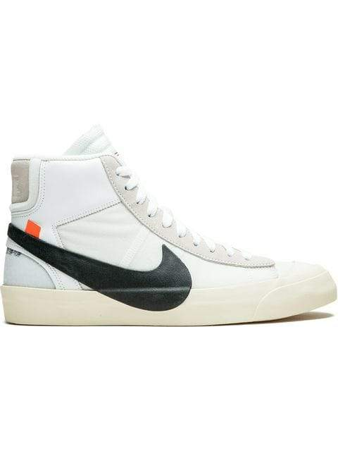 Nike x Off-White The 10: Blazer Mid Sneakers