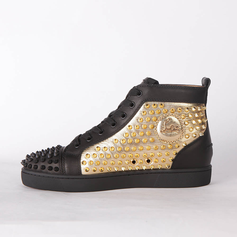 Lou Spikes Orlato Flat Black, Gold