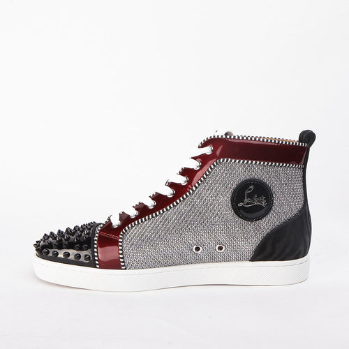 Lou Spikes Orlato Flat Black, Red