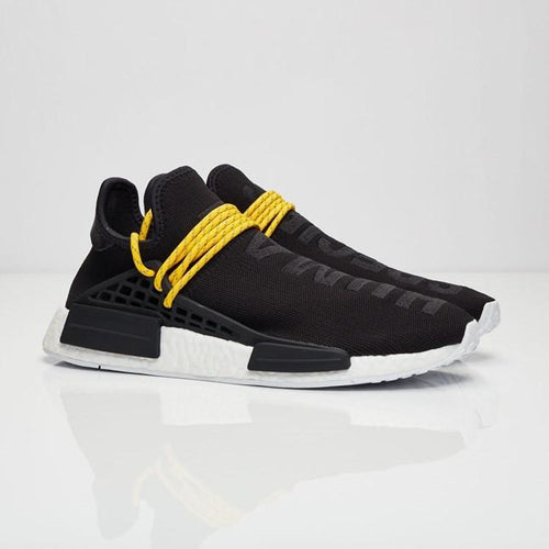 Pharrell x adidas NMD HU Race 'Core Black'