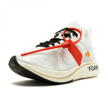 "Load image into Gallery viewer, OFF-WHITE X ZOOM FLY ""WHITE/WHITE-MUSLIN"""