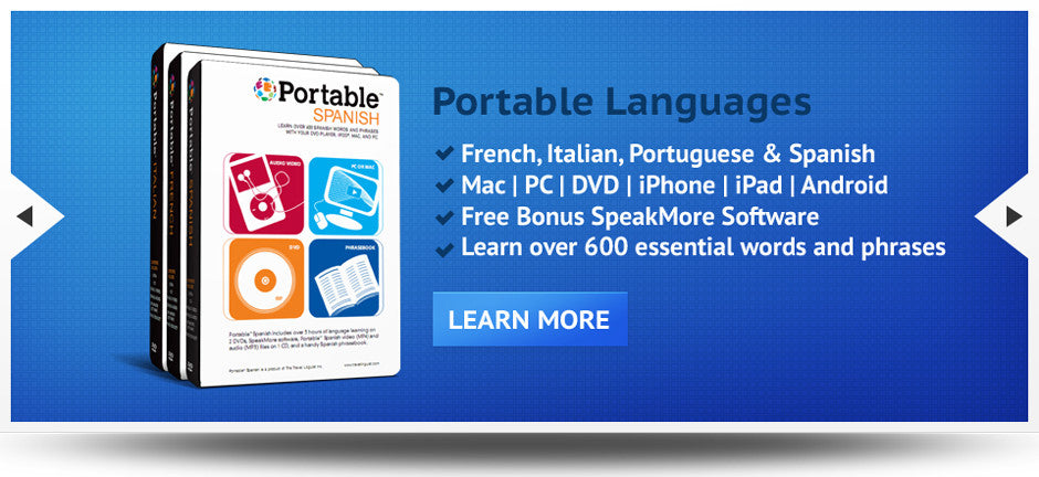 Learn over 600 words with Portable Language