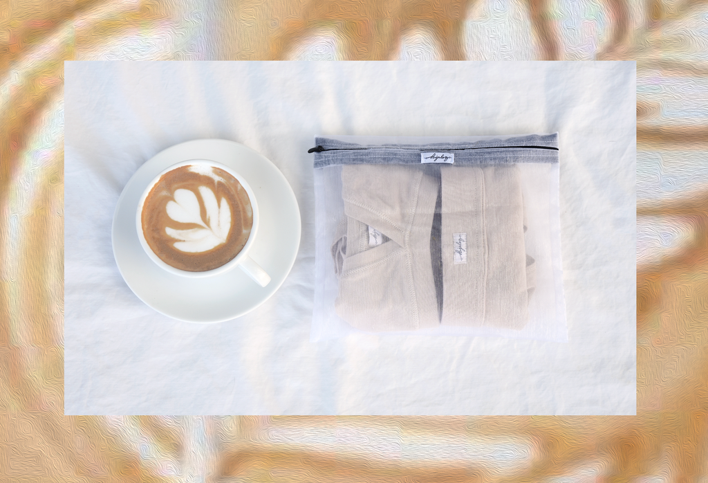 Latte Set - Coffee Dyed Undies