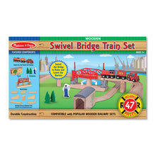 Load image into Gallery viewer, Swivel Bridge Train Set