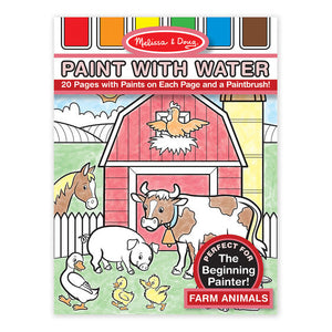 Paint With Water -Farm Animals