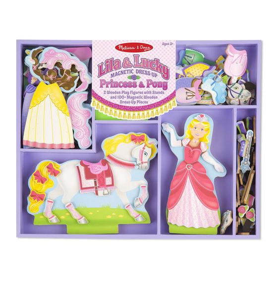 Magnetic Dress-Up - Princess & Pony