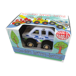 Wooden brrrm-brrms Emergency Vehicles