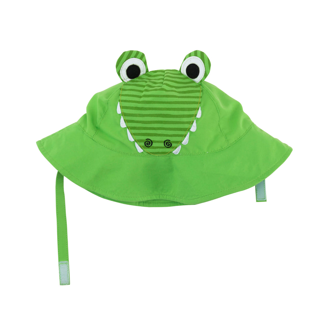 Zoocchini Baby Sun Hat Alligator - 12-24m