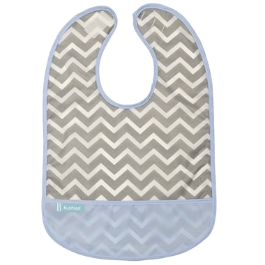 Cleanbib - Blue Chevron - 12m+