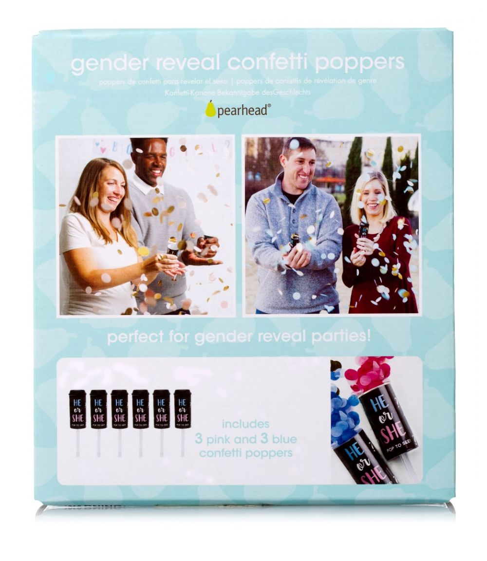 Gender Reveal Confetti Poppers