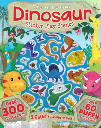 Dinosaur Sticker Play Scenes