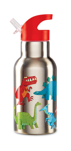 Crocodile Creek Stainless Steel Bottle - Dinosaur