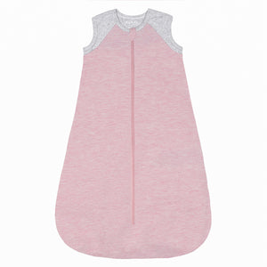 Organic Raglan Dream Sack - Pink - 0-6m