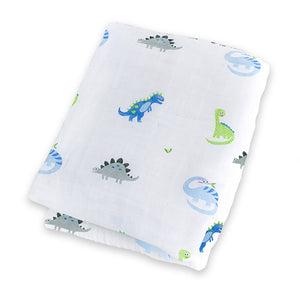 Lulujo muslin cotton swaddle