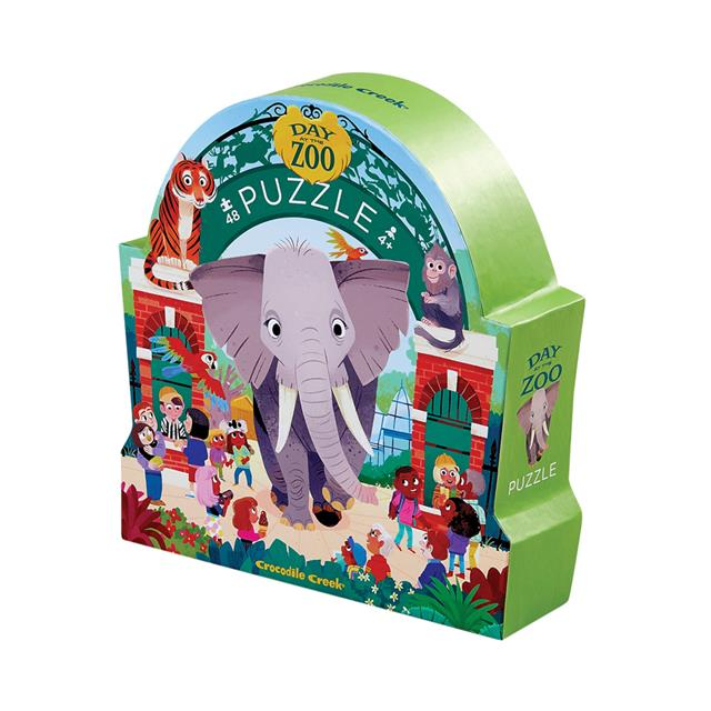 Day at the Zoo Puzzle - 48 Pieces