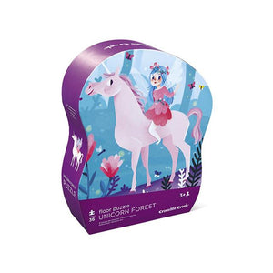Unicorn Forest Puzzle - 36 Pieces