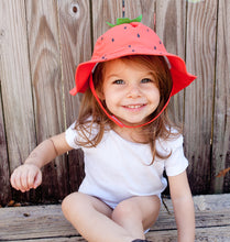 Load image into Gallery viewer, Zoocchini Baby Sun Hat Strawberry - 6-12m
