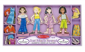 Magnetic Dress-Up - Best Friends Forever