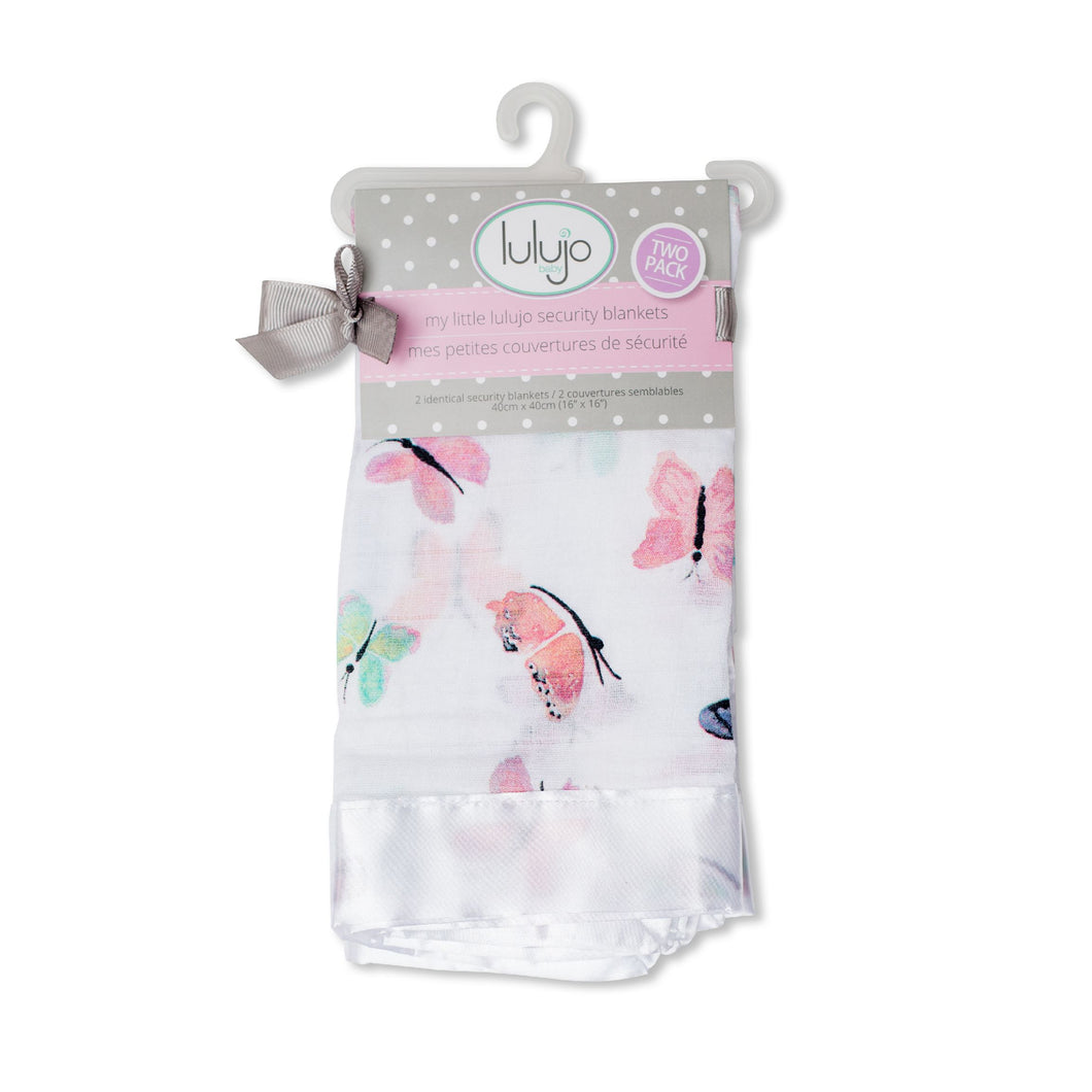 Lulujo Security Blanket - Butterfly