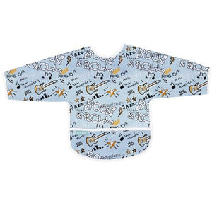 CleanBib with Sleeves - Blue Rock - 2+