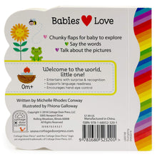 Load image into Gallery viewer, Babies Love Colors