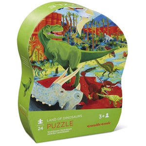 Land of the Dinosaur Puzzle - 24 pieces