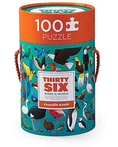 Thirty Six Birds Puzzle - 100 Pieces