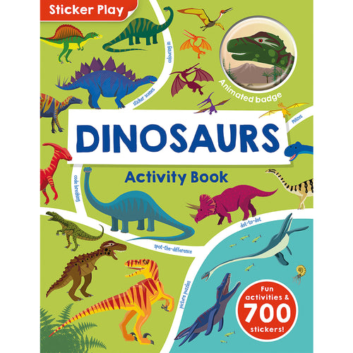 Dinosaurs Activity Book