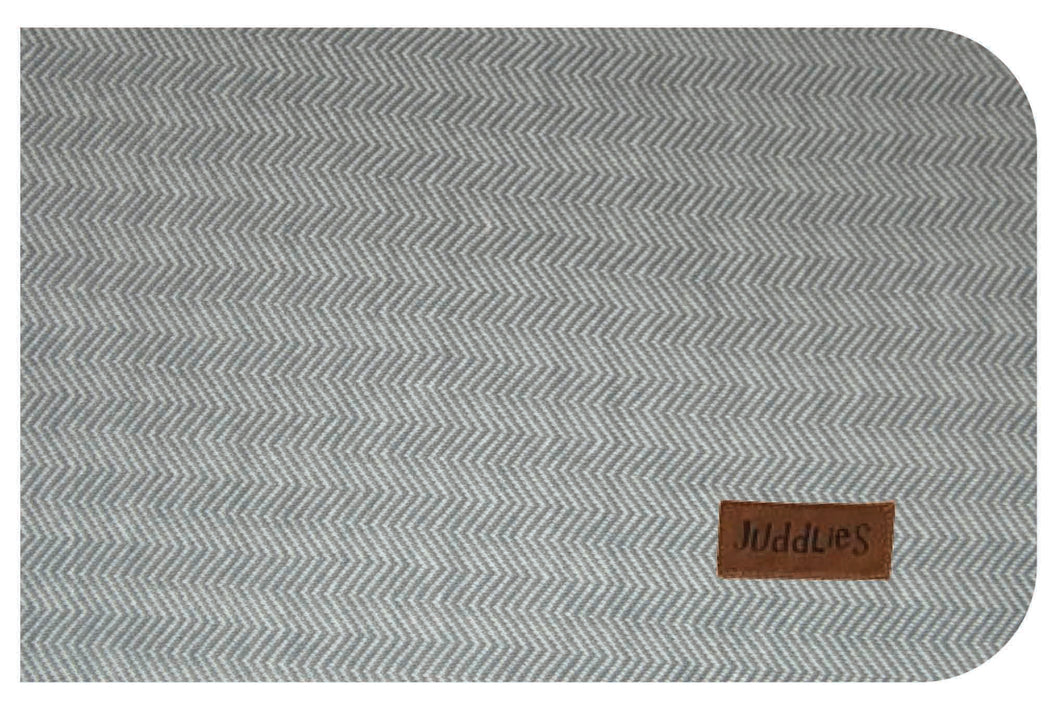 Juddles Crib Sheet - Driftwood Grey