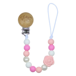 Silicone Pacifier Clip - Emmalyn Rose