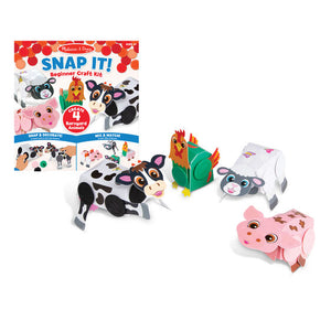 Snap It!  Craft Kit Barnyard