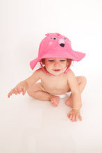 Load image into Gallery viewer, Zoocchini Baby Sun Hat - Flamingo