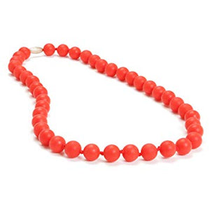 Jane Necklace - Cherry Red