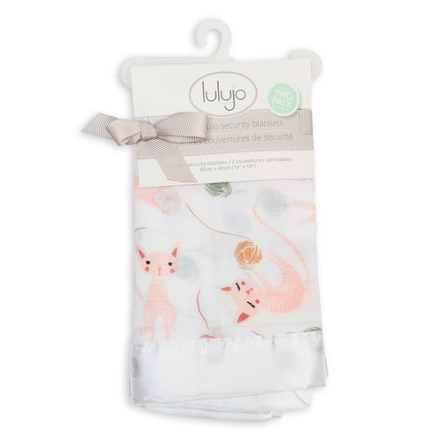 Lulujo Security Blanket - Kitty