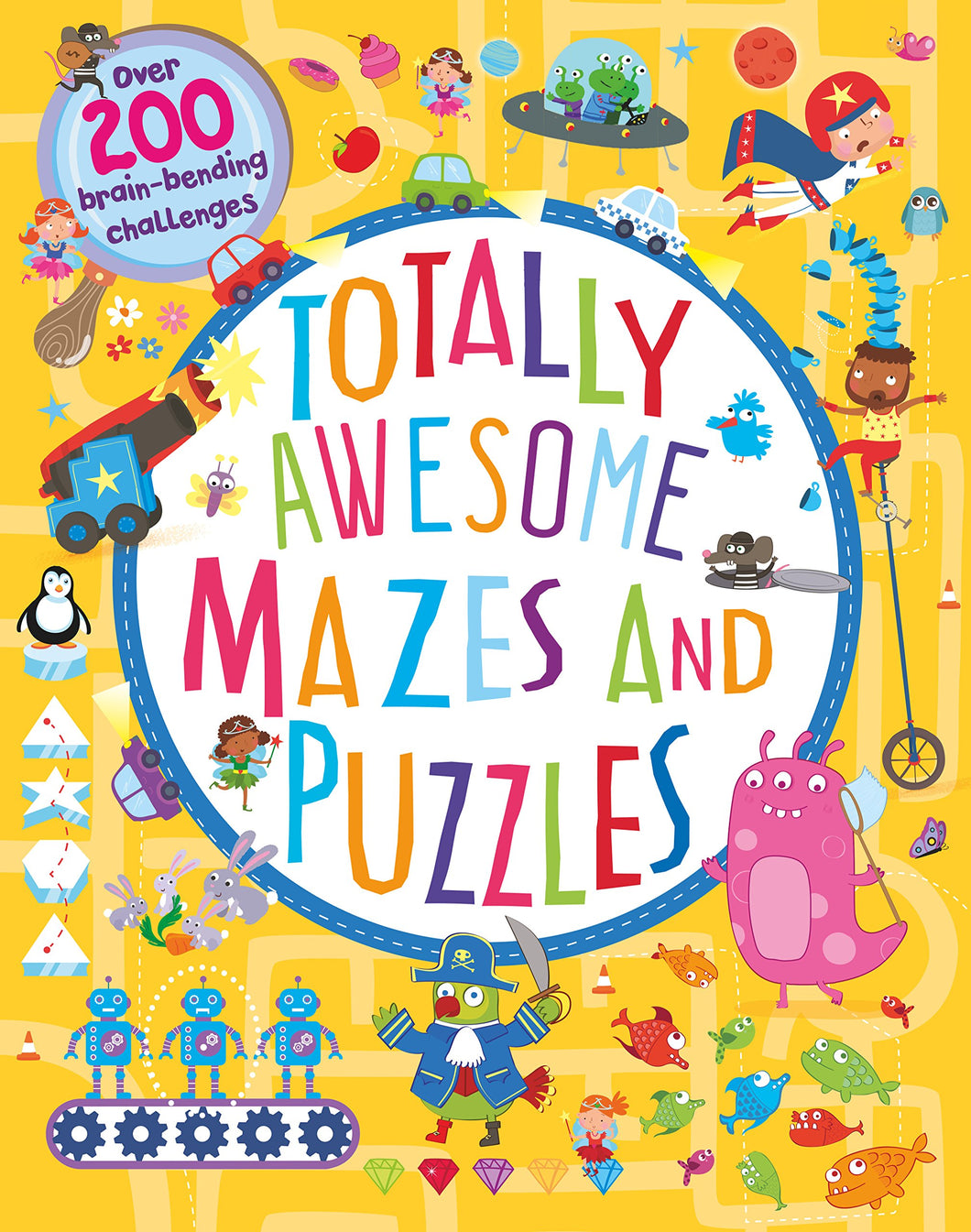 Totally Awesome Mazes/Puzzles