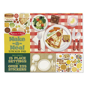 Reusable Sticker Pad - Make a Meal