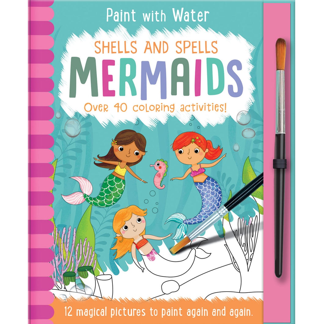 Paint with Water - Mermaids